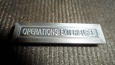 Agrafe pour médaille Ordonnance OPERATIONS EXTERIEURES