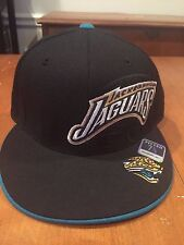 Jacksonville Jaguars fitted hat size 7 1/8 Reebok new with stickers NFL JAGS