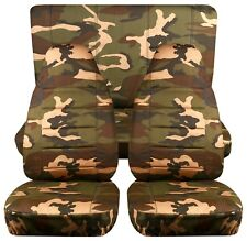 Fits 97-02 Jeep Wrangler TJ car seat covers ,CAMOUFLAGE DESIGN