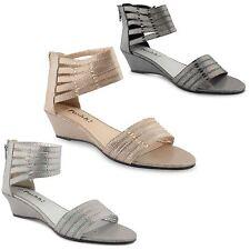 Wedge Low Heel (0.5-1.5 in.) Gladiators Shoes for Women
