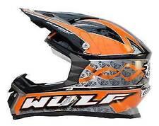 Gloss Fibreglass Motocross & ATV Graphic Motorcycle Helmets