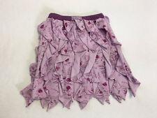 Naartjie 7 Forest Friends Purple Lavender Vertical Waterfall Ruffle Skirt Girls