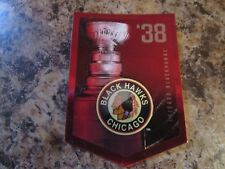 2012-13 Panini Molson Canadian Stanley Cup Collection 1938 CHICAGO BLACK HAWKS