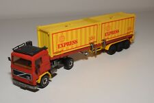 @. 1:55 SIKU 3111 VOLVO F10 TURBO 6 TRUCK WITH TRAILER CONTAINER EXCELLENT COND.