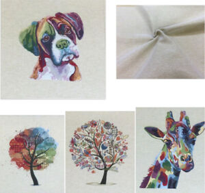 Chatham Glyn Cushion/Bag Panels.Thick Tapestry Style Cotton Fabric.4 New Designs