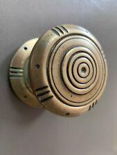 Antique Solid Brass Front Door Knob