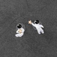 Cute Astronaut Star Women Gifts Fashion Jewelry Stud Earrings Ear Stud