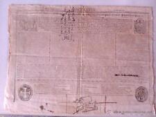 BULA DE LA SANTA CRUZADA 1776, EXPEDIDA EN GERONA