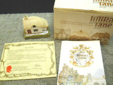 Lilliput Lane Woodcutters English Collection S. W. #023 Nib & Deeds 1983 Signed
