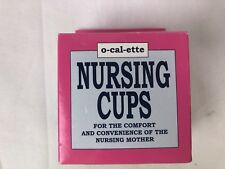 Pharmics O-cal-ette Nursing Cups Comfort Convenience New Mother 2 per pack