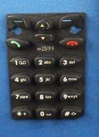 Original Nokia 6150 Tastaturmatte Tastatur für Handyschale Keypad Schwarz Neu