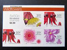 Australian Stamps: 2005 - Australian Wildflowers - Sheetlet
