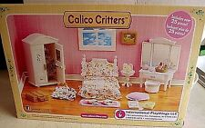 CALICO CRITTERS GIRL'S BEDROOM SET. OVER 25 PCS. DOLLS NOT INCLUDED