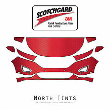 Ford Edge Sport 2015-2018 PreCut 3M PRO Series Paint Protection Film Clear Bra