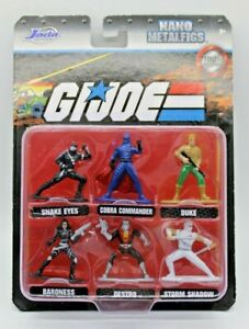 GI Joe Nano Metal Figs MOC Jada Toys 2020