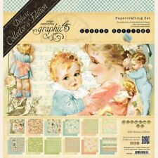 """GRAPHIC 45 """"LITTLE DARLINGS"""" 12X12 DCE BABIES INFANTS IN STOCK SCRAPJACK'S PLACE"""