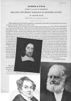 Yale Abolitionist Bacon Influenced Lincoln, Preserved Puritan Baxter's Work