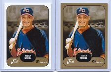 "YADIER MOLINA 2002 JUST MINORS ""2"" CARD ROOKIE LOT! ""GOLD EDITION"" CARDINALS!!"