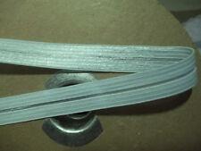 FOLDOVER ELASTIC 1/2 inch Shiny Seafoam Mint Green Foldover Elastic 5 yds NEW