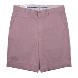 NWT $535 BRIONI 'Rodi' Dusky Lavender Cotton Summer Shorts 32 (Eu 48)