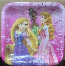Disney Princess Plates Set Of 8 Birthday Party Tableware