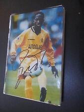 27565 Celestine Babayaro FC Chelsea London original signiertes Autogrammfoto
