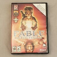 Fable: The Lost Chapters for PC LionHead Studios 2005 Free Ship 3/4 discs