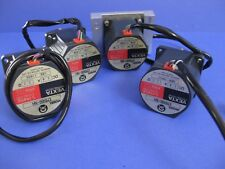 VEXTA Stepping Motor EM566-NA 5 Phase, 1.4A, 1.1O - Lot of 4 Used