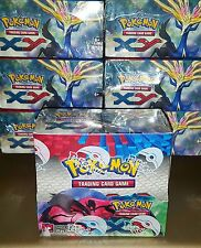 OFFICIAL POKEMON XY BOOSTER BOX OF 36 PACKS FACTORY SEALED {ULTRA RARE}