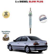 Pour Toyota Avensis 2000-20003 2.0 DT D4D DENSO glow plug x 1 oe qualité