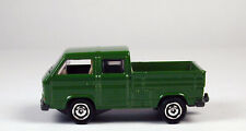 Matchbox Volkswagen Transporter Crew Cab Green No Package