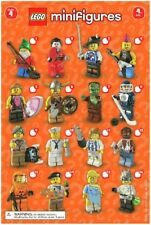 Lego 8804 Minifigure Series 4 No 11 Soccer Player New in Opened Packaging New