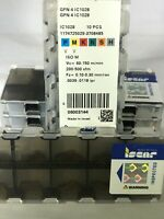 1 BOX OF 10 INSERTS - ISCAR GFN 4 IC1028