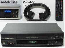 6 head HiFi VHS Videorecorder /zuverlässig/geprüft/ 1 J. GARANTIE Videorekorder