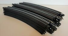 """Bachman EZ Track HO Scale 18"""" Right Curved 30 Degree (LOT OF 12 PIECES)"""