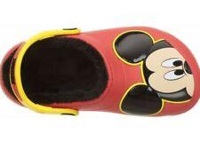 dc40f28f30bd3c Disney Mickey Mouse Crocs Sandals sz 2 Big Boys Girls NWT FreeShip