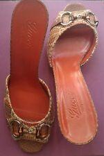 Gucci shoes women bamboo