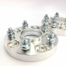 USED - 2 Pcs Wheel Spacers | 5X120 To 5X120 | 66.9MM CB | 14X1.5 | 20MM