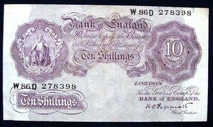 1940 BANK OF ENGLAND 10/- SHILLINGS