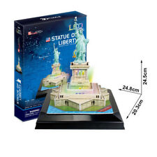 Cubic Fun - 3D Puzzle Statue of Liberty Freiheitsstatue New York USA mit LED