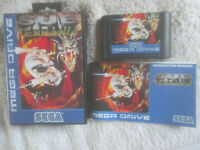 Sub Terrania / CIB / Sega Mega Drive