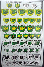 BP Logos Decals 1:160 oder Spur N Wasserschiebebilder