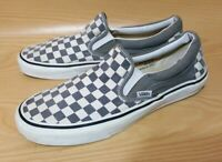 Vans Classic Checkered Slip On Canvas Men's Shoes Size 10.5