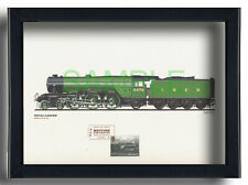 LNER Class A1 4476 Royal Lancer framed First Day cover print and card