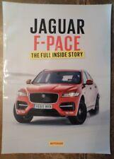 JAGUAR F-PACE orig 2015 UK Mkt Full Inside Story Publicity Brochure