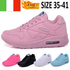 Donna Aria Sneakers Scarpe da Corsa Sportivo Ginnastica Moda Calzature LACU UP