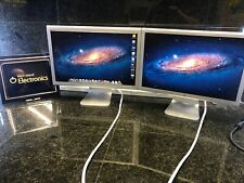 "2 x Apple 20"" Widescreen LCD Cinema Display 