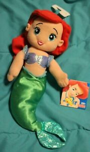 2002 FISHER PRICE Plush ARIEL Doll THE LITTLE MERMAID Disney NEW WITH TAGS rare