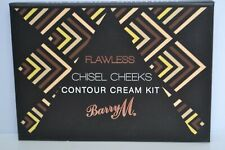 Sealed Barry M Flawless Chisel Cheeks Contour Cream kit palette RRP £19.50