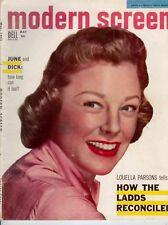 Modern Screen - June Allyson on Cover - 1955